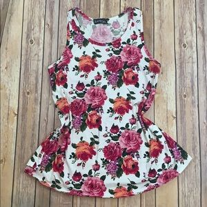 Flower maternity top